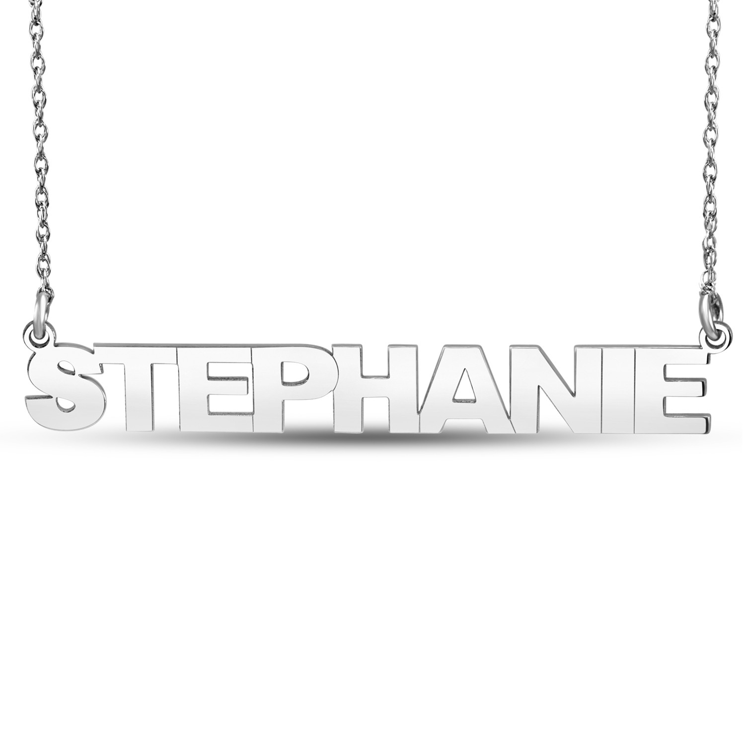 HI Polish Name Pers Necklace